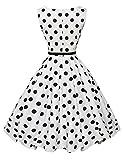 GRACE KARIN Polka Dots Retro Swing Dresses for Women Size M F-6