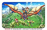 Monster Hunter Stories Game Stylish Playmat Mousepad (24 x 14) Inches [MP] MonsterHunterStories-1