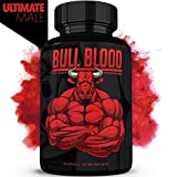 Bull Blood | #1 Male Enhancing Pills (1 Month Supply) - Enlargement Booster for Men | Increase Size, Strength, Stamina - Energy, Mood, Endurance Boost | All Natural Performance Supplement