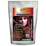Wine Red Henna Hair & Beard Dye/Color - 1 Pack - The Henna Guys