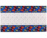 AMERICAN GREETINGS Superman Party Supplies, Plastic Table Cover (1-Count)
