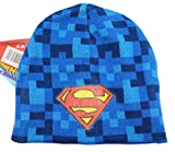 DC Comics Superman Blue Digital Shaded Beanie