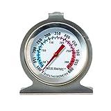 Farberware 5141019 Protek Classic Oven Thermometer Kitchen Essentials, 5.5 x 4 x 1.2 inches, Silver