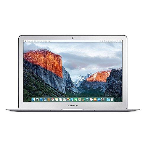 Apple MMGG2LL/A MacBook Air 13.3-Inch Laptop (1.6 GHz Intel Core i5, 8GB RAM, 256GB SSD, Mac OS X V10.11 El Capitan), Silver (Refurbished)