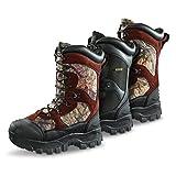 Guide Gear Men's Monolithic Waterproof Insulated Hunting Boots 2400 Gram, Mossy Oak, 10.5D