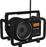 Sangean TB-100 (Toughbox) AM/FM/AUX-in Ultra Rugged Digital PLL Tuning Rechargeable Radio (Special Edition Black)