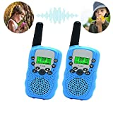 Best Gifts for Kid, Fun Toy Walkie Talkies for Kid,Fun Toys for 4-5 Year Old Boys, Camping Accessories for Kids Boys Toys 5-9 Year Old,1 Parir(Blue)