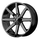 KMC Wheels Slide KM651 Gloss Black Finish Wheel (20x8.5