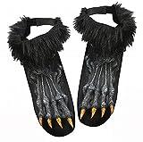 Werewolf Shoe Covers Costume Accessory