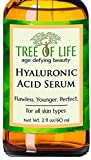 ToLB Hyaluronic Acid Serum for Skin - DOUBLE SIZE 2oz Moisturizer for Face Pure Hyaluronic Acid + Vitamin C and Moisturizing Ingredients - Paraben Free, Vegan - 2 fl oz