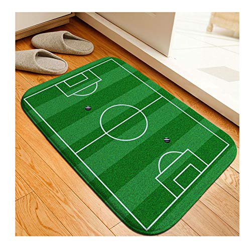 Football Venue Pad Wear-Resistant Dust-Absorbing Non-Slip Mats Carpets Kitchen Rug Door Way Feet Mat,A