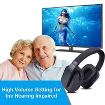 24g-RF-Wireless-Headphones-for-TV-Watching-Listening-ARTISTE-D1-Rechargeable-Wireless-Headset-with-Charging-Dock-Transmitter-Optical-Fiber-Output-Ideal-Headset-for-The-Seniors-100ft-Range