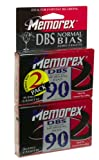 Memorex DBS 90-Minute Audio Tape (2-Pack) (Discontinued by Manufacturer)