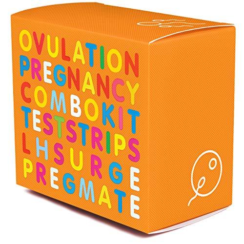 PREGMATE 40 Ovulation LH and 10 Pregnancy HCG Test Strips OPK LH Surge Predictor Kit (40 LH + 10 HCG)