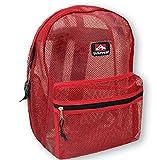 Trailmaker Mesh Backpack (Red)