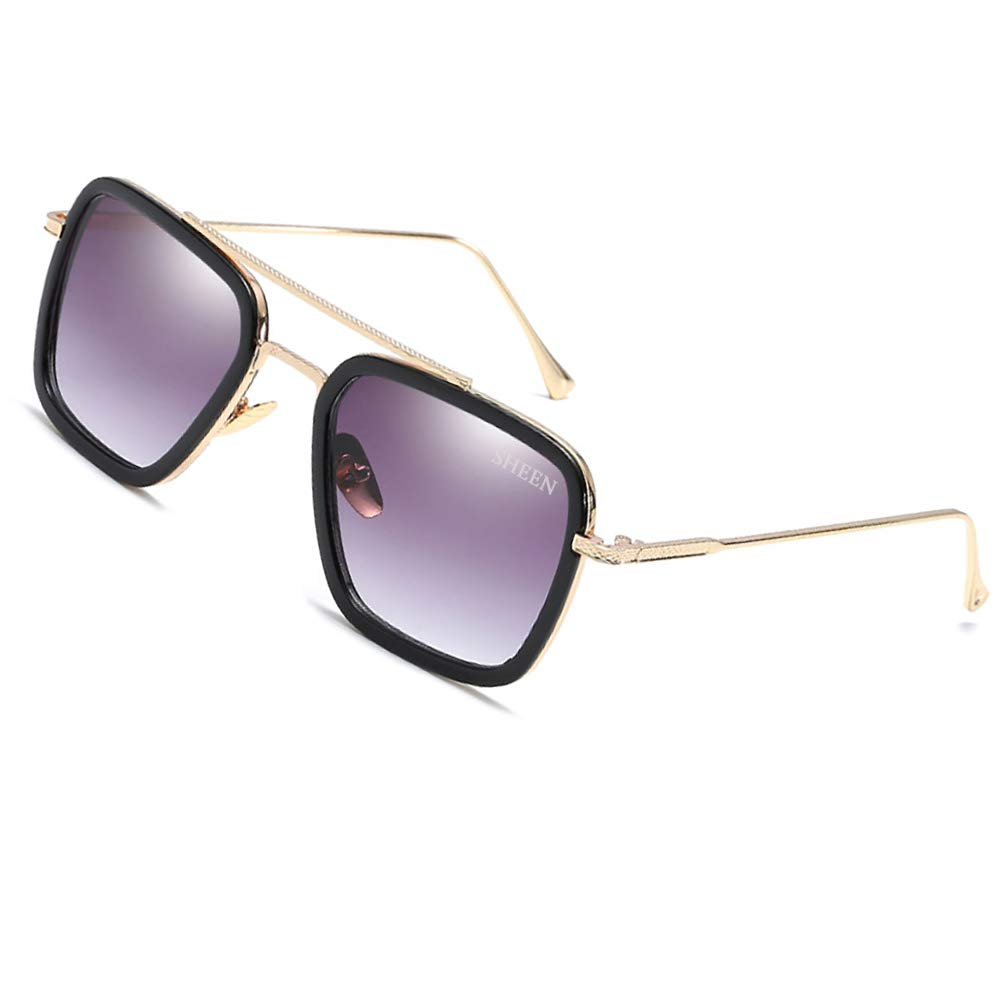 Lunettes de soleil sport pour hommes Fashion Aviator Retro Classic Shades Vintage Hommes Femmes Lunettes