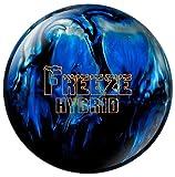 Columbia 300 Freeze Hybrid Bowling Ball, Black/Blue/Silver, 14