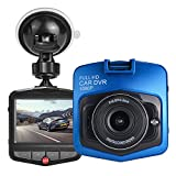 HK Dash Cam for Cars with Night Vision 1080P FHD DVR Vehicle Driving Recorder Dashboard Camera 2.4' LCD Screen 170 Degree Wide Angle,Parking Monitor, G-Sensor,WDR,Loop Recording, Motion Detection