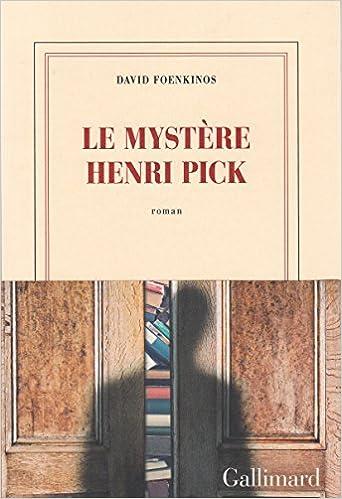 Le mystère Henri Pick Couverture du livre