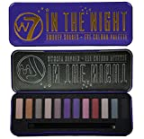 W7 -'In The Night' Smokey Shades - Eye Colour Palette 12 in 1 Eyeshadow Palette