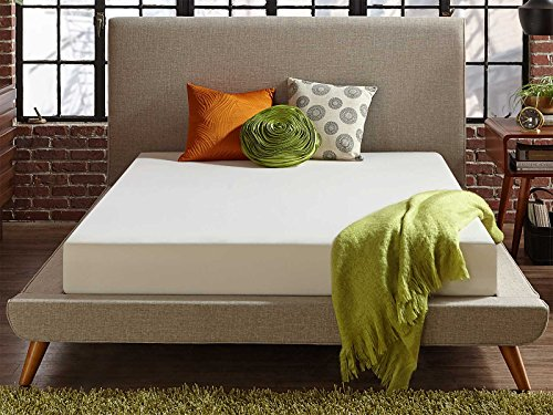 Live and Sleep Classic Mattress - Queen Size Memory Foam Mattress in a Box - Medium Plush Bed in a Box - Firm Support, Bonus Foam Pillow, CertiPUR Certified - Queen Size Bed