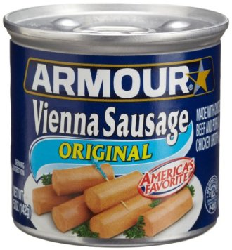 Image result for armour vienna sausage