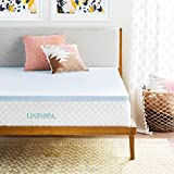 Linenspa 2 Inch Gel Infused Memory Foam Mattress Topper - Twin size