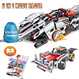 Engineering Toys, STEM Learning Kits, Educational Construction RC Racer Building Blocks Set for 7, 8 and 9 Year Old Boys and Girls|Top Xmas Gift Ideas for Kids Age 6yr-14yr