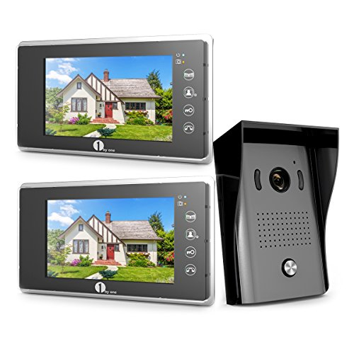 1byone 103NA-0001 Door Phone Intercom System Video Doorbell Kit 13.3 x 11.7 x 4.1 inches