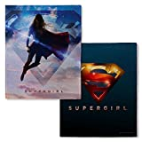 Warner Bros. Supergirl TV Series Logo Fleece Throw Blanket