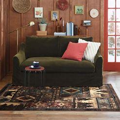 Lodge Cabin Rustic Rug