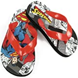 Warner Bros Superman SUS100 Flip Flop (Toddler/Little Kid),Assorted,7 M US Toddler