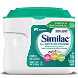 Similac For Supplementation Non-GMO Infant Formula with Iron, Powder, 23.2 Ounces