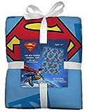 Superman No-Sew Throw Anti-Pill Fleece Fabric Kit