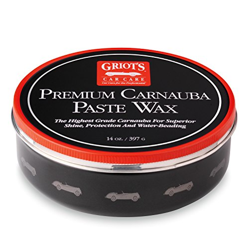 Griot's Garage 11029 Premium Carnauba Paste Wax 14oz