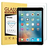 [2 Pack] New iPad 9.7' (2018 & 2017) / iPad Pro 9.7 Screen Protector, SPARIN Tempered Glass Screen Protector - Apple Pencil Compatible/High Definition/Scratch Resistant