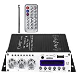 Robolife USB Kentiger V10 Bluetooth Hi-Fi Stereo Super Bass Audio Power Amplifier with Remote Control, Without Power Cord