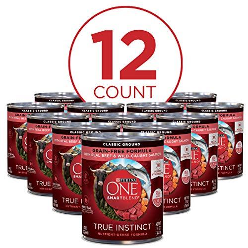 Purina ONE SmartBlend True Instinct Adult Canned Wet Dog Food 2