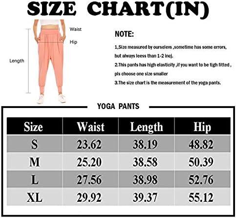 Zamowoty Womens Workout Sweatpants High Waist Yoga Joggers Running Pants Pajama Lounge Pants with Pockets 4