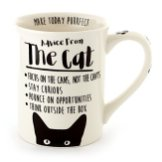 Enesco-6000546-Our-Name-Is-Mud-Advice-From-The-Cat-Stoneware-Coffee-Mug-16-oz-White