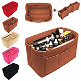 Luxury Purse Organizer Felt Bag Organizer Handbag Tote Bag in Bag for LV Speedy