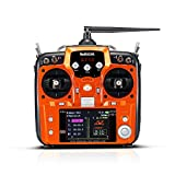 Radiolink AT10II 12CH RC Transmitter and Receiver R12DS 2.4GHz DSSS&FHSS Spread Radio Remote Controller for RC Drone/Fixed Wing/Multicopters/Helicopter (Mode 2)