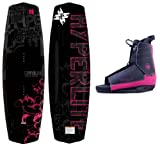 Mystique New Hyperlite Women's Wakeboard 2019 Complete Package Fits Women's 5-10 (135 cm)