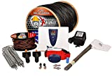 Underground Electric Dog Fence Ultimate - Extreme Pro Dog Fence System for Easy Setup and Maximum Longevity and Continued Reliable Pet Safety - 1 Dog | 1000 Feet Pro Grade Dog Fence Wire