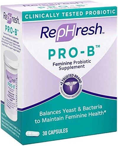Rephresh Pro-B Probiotic Feminine Supplement, 30 Capsules ( Pack of 3) 4
