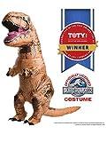Rubie's Adult Official Jurassic World Inflatable Dinosaur Costume, T-rex, Standard