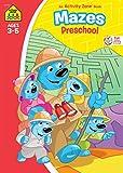 School Zone - Mazes Preschool Workbook - Ages 3 to 5, Preschool to Kindergarten, Maze Puzzles, Colorful Pictures, and More (School Zone Activity Zone Workbook Series)
