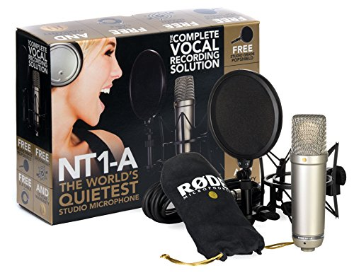 Rode NT1-A-MP Stereo Vocal Condenser Microphones, Matched Pair