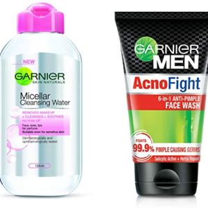 Garnier Skin Naturals Micellar Cleansing Water, 125ml 27  Garnier Skin Naturals Micellar Cleansing Water, 125ml 51CRLYCI4EL