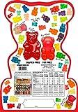 Happy Yummies Worlds Best Tasting Gourmet Gummies Super Bear Assortment 4lb. (64 ounces)